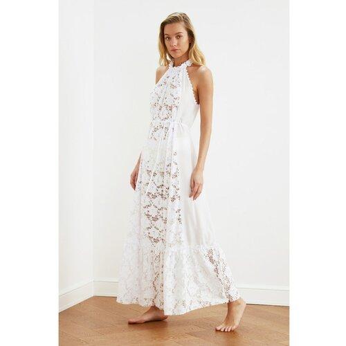 Trendyol Ženska haljina Lace siva  Cene
