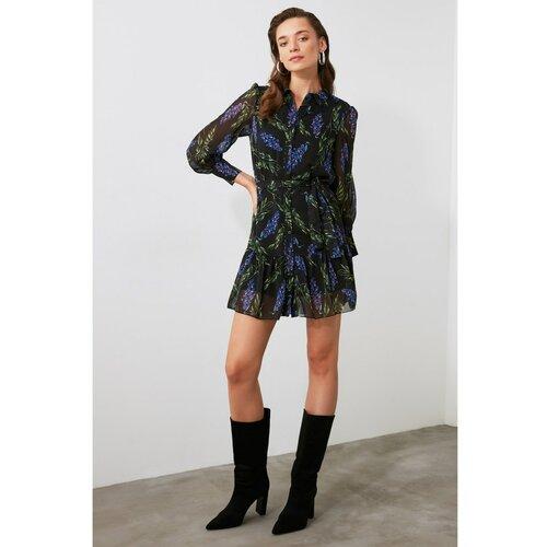 Trendyol Haljina s uzorkom u više boja crna | siva  Cene