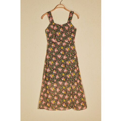 Trendyol višebojna haljina s cvjetnim uzorkom  Cene