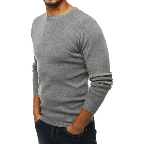 DStreet Svijetlosivi muški pulover WX1552 siva  Cene