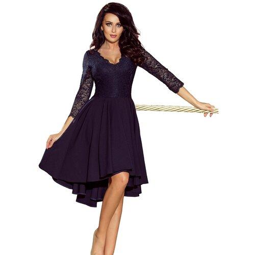 NUMOCO Ženska haljina 210 NICOLLE crna krema  Cene