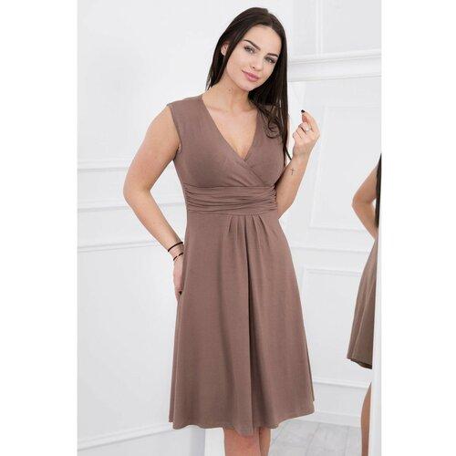 Kesi Ženska haljina Modno smeđa krema   tamnocrvena   pink  Cene