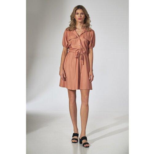 Figl Ženska haljina M739 braon  Cene