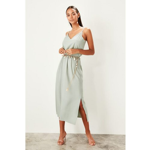 Trendyol Ženska haljina Remen siva  Cene