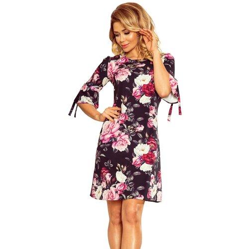 NUMOCO Ženska haljina 217 tamnocrvena pink  Cene