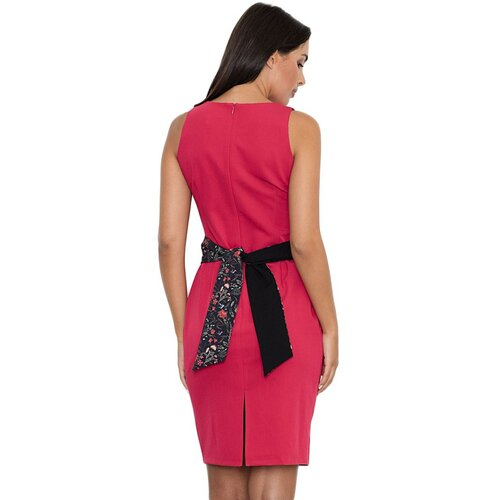Figl Ženska haljina M534 crna   Crveno  Cene
