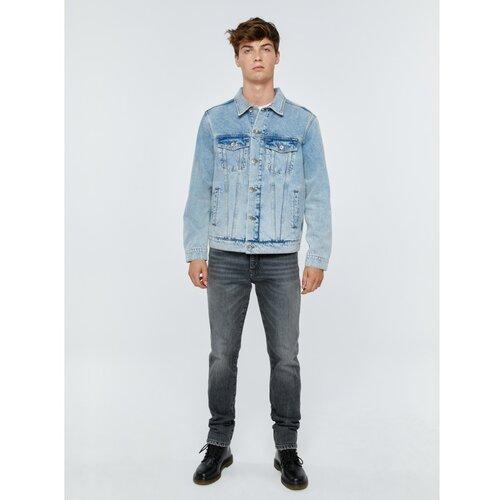 Big Star Muška jakna 130187 Light Jeans-199 plava | bijela | siva  Cene