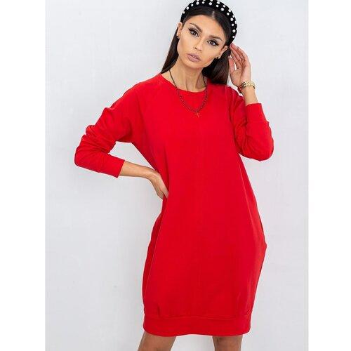 Fashionhunters Ženska haljina RUE PARIS crvena  Cene