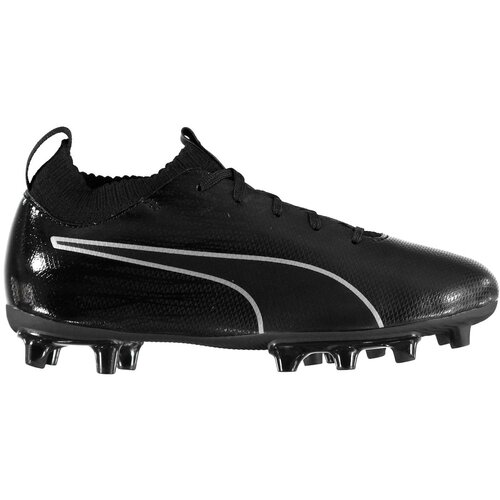 Puma Football boots evoKNIT Childrens Firm Ground crna   siva  Cene