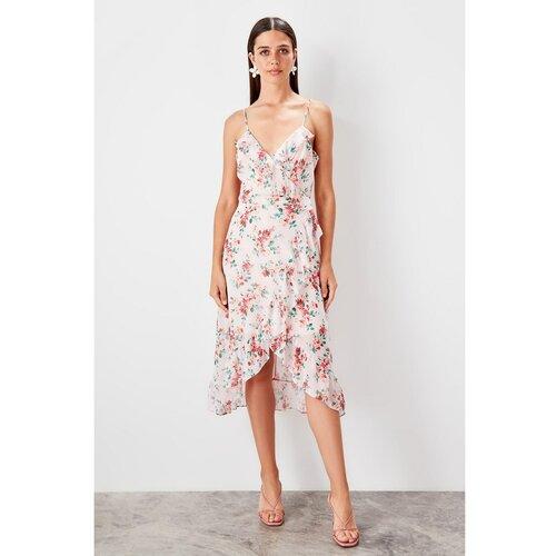 Trendyol Ženska bijela haljina sa cvjetnim uzorkom  Cene