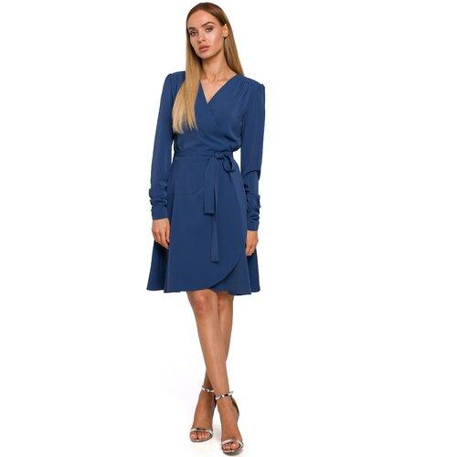 Made Of Emotion Ženska haljina M487 plava  Cene