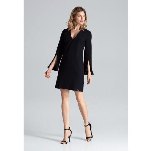 Figl Ženska haljina M550 crna | siva  Cene