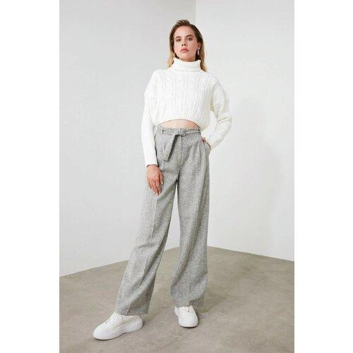 Trendyol Ženske hlače visokog struka crne smeđa | pink  Cene