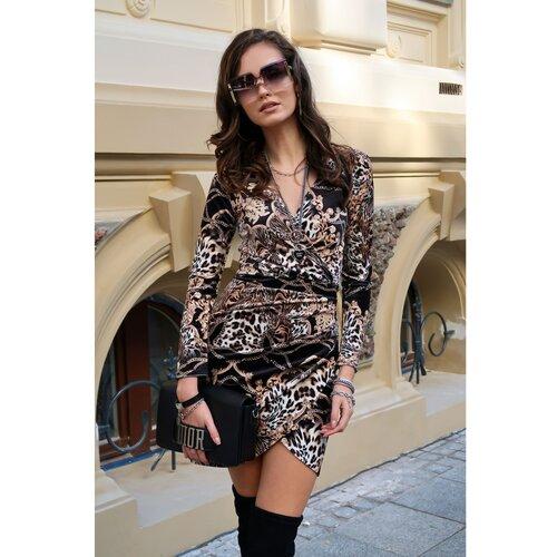 Roco Ženska haljina SUK0307 crna | siva | smeđa  Cene