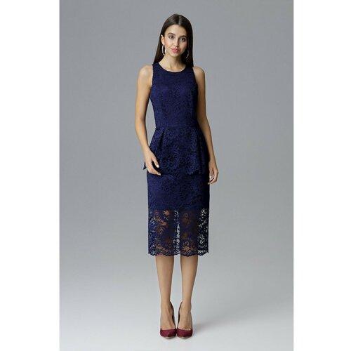 Figl Ženska haljina M640 Navy Black | plava  Cene