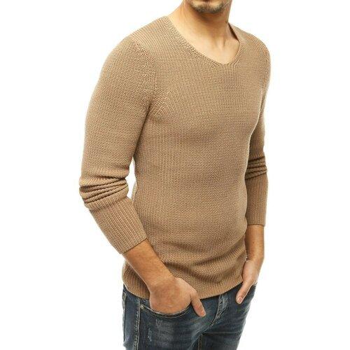 DStreet Muški džemper navučen preko glave, smeđi WX1591 braon   krem  Cene