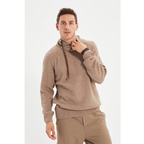 Trendyol Mink Novi muški pulover s ogrlicom  Cene