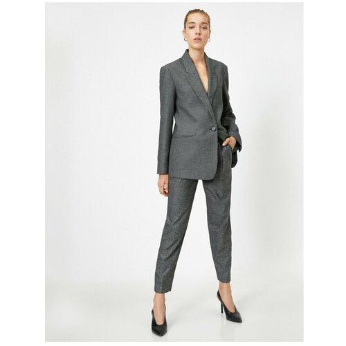 Koton Ženske sive pantalone za cigarete sive boje  Cene