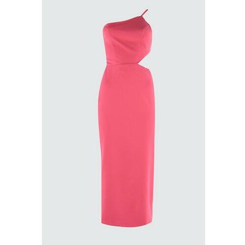 Trendyol Ženska haljina Koktel bijela | pink  Cene