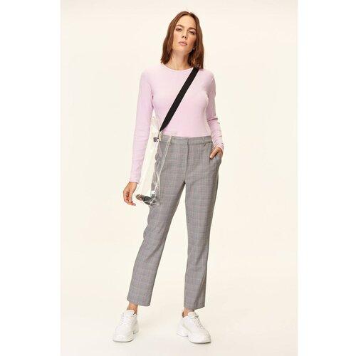 Trendyol hlače od cigareta Sive karirane hlače  Cene