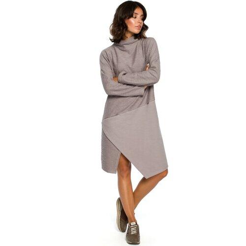 BeWear Ženska haljina B098 siva smeđa  Cene