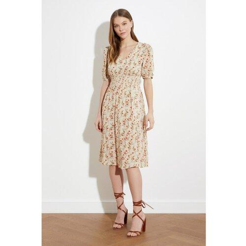 Trendyol Ženska haljina Uzorak braon | krem  Cene