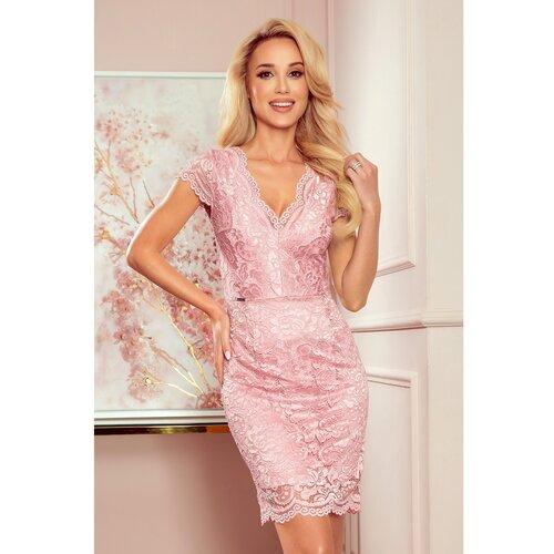 NUMOCO Ženska haljina 316 narandžasta | ružičasta  Cene