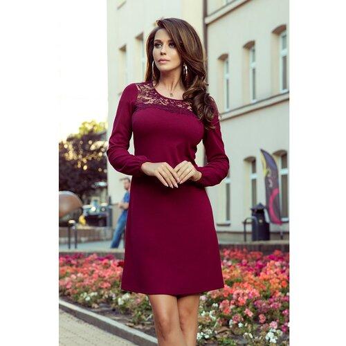 NUMOCO Ženska haljina 291 crna crveno crveno  Cene