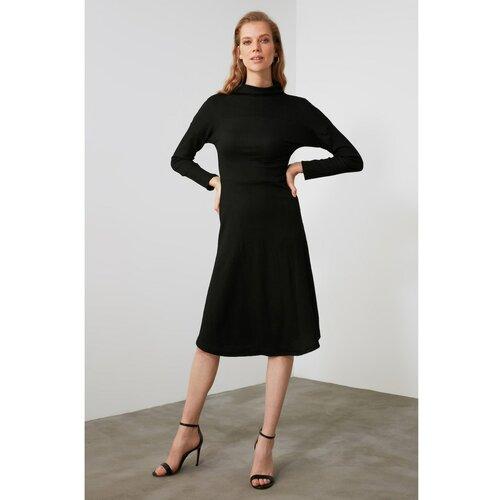 Trendyol pletena haljina sa crnim grlom  Cene