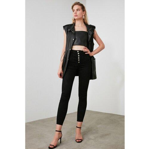 Trendyol Ženske farmerke Skinny crna | siva | braon | ružičasta  Cene