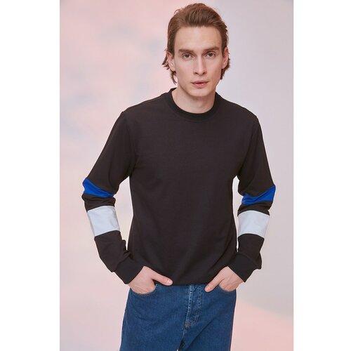 Trendyol crna muška majica sa panelom  Cene