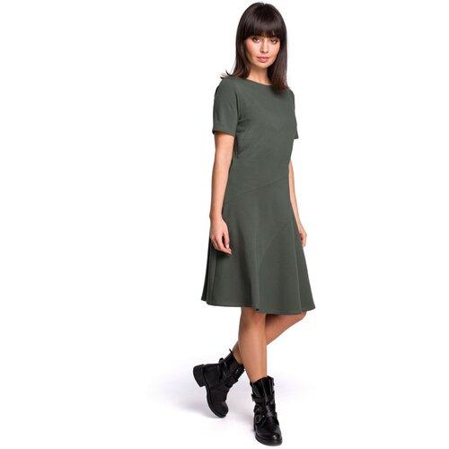 BeWear Ženska haljina B105 Vojna crna | siva  Cene