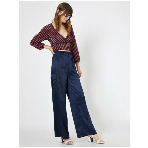 Koton Ženske tamnoplave hlače  Cene