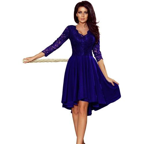 NUMOCO Ženska haljina 210 NICOLLE crna plava  Cene