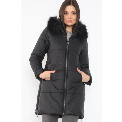 dewberry Ženska zimska jakna CABANE siva  Cene