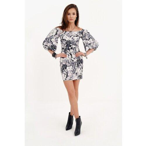 Roco Ženska haljina SUK0278 crna   siva  Cene