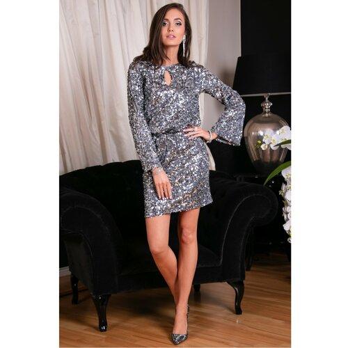 Roco Ženska haljina SUK0267 siva  Cene