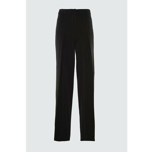 Trendyol Crna baterija Detaljne hlače crne bijela  Cene