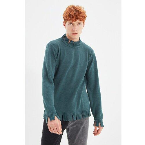 Trendyol Benzinski muški obični polovični pleteni džemper  Cene