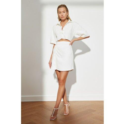 Trendyol Ženska haljina Detailed bela  Cene