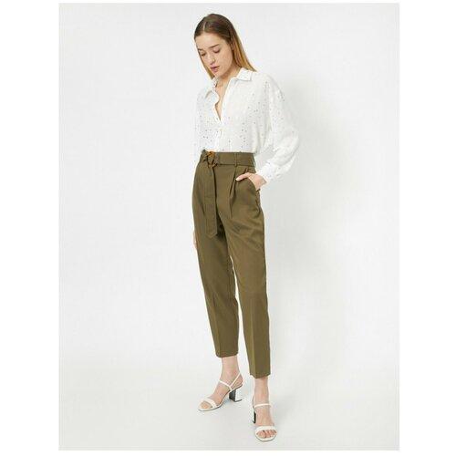 Koton Ženske zelene hlače Slike