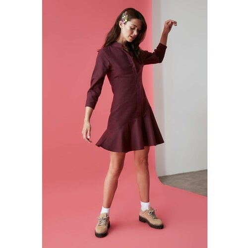 Trendyol ljubičasta haljina s zamašnjakom  Cene