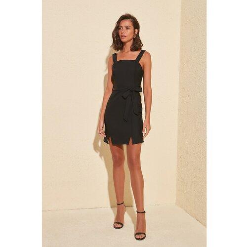Trendyol Ženska haljina Slit detaljno smeđa  Cene