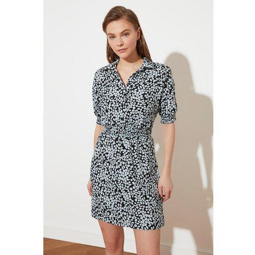 Trendyol višebojna haljina s volanima u struku  Cene