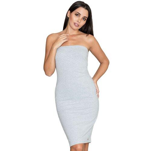 Figl Ženska haljina M575 siva  Cene