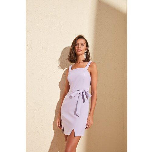 Trendyol Ženska haljina Slit detaljno siva  Cene