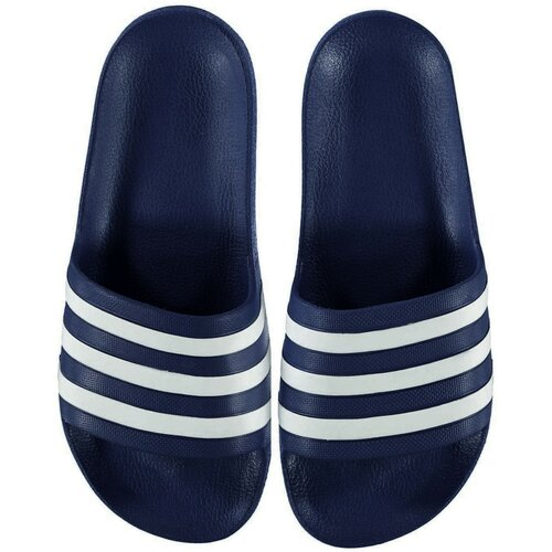 Adidas Muške papuče Duramo crne plava | siva Slike