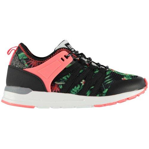 Fabric Gala Runners Trainers Juniors Black pink  Cene