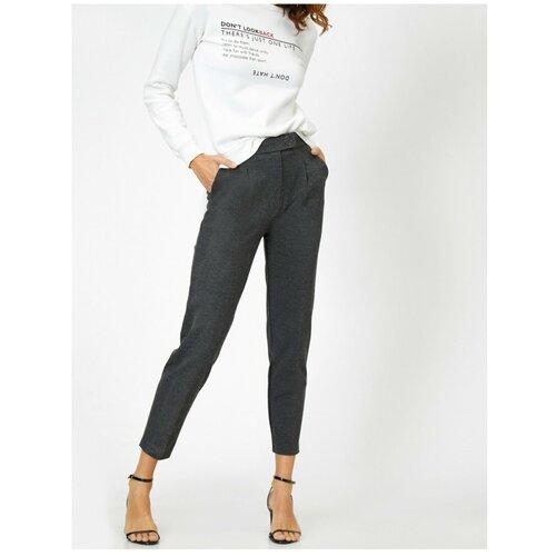 Koton Ženske sive džepne detaljne hlače  Cene