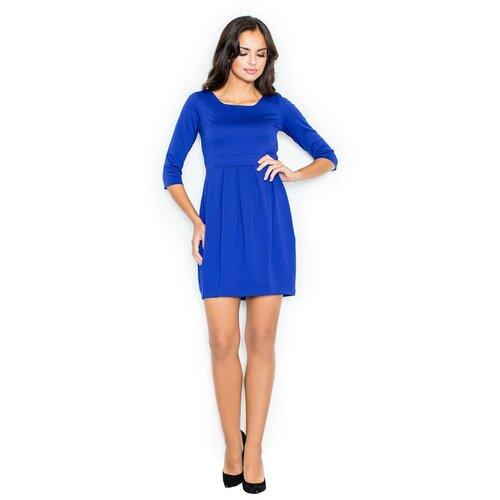 Figl Ženska haljina M122 plava | bijela  Cene